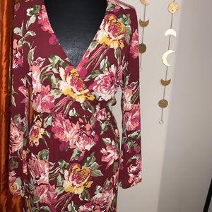 Saks Fifth Avenue Floral short dress